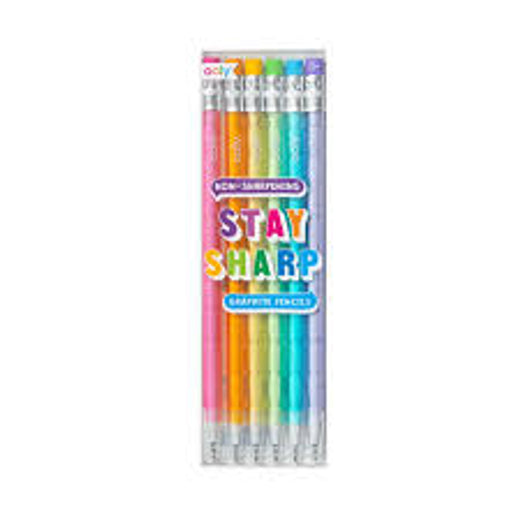 Ooly Stay Sharp Rainbow Pencils