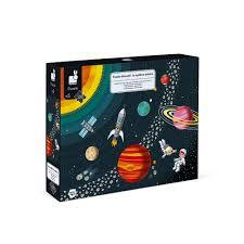 Janod Educational Puzzle The Solar System 100 pieces
