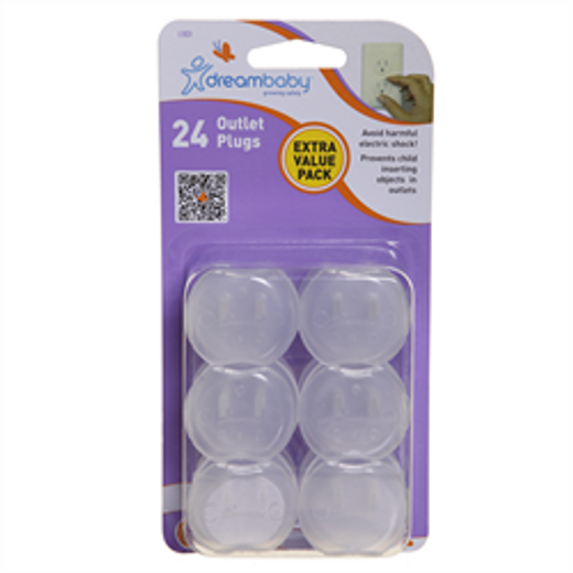 Dreambaby Outlet Plugs - 24pk