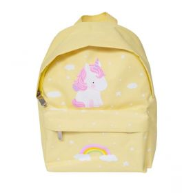 Little Lovely Company Yellow Unicorn Backpack
