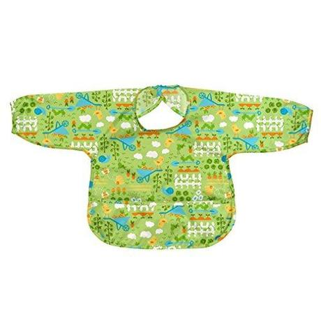 Green Sprouts Easy-wear Long Sleeve Bib
