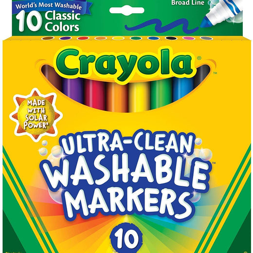 Crayola Ultra Clean washable 10 pk