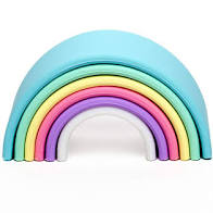 Dena My First Silicone Rainbow Teether