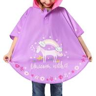 Floss and Rock Poncho COLOUR CHANGING! - Unicorn