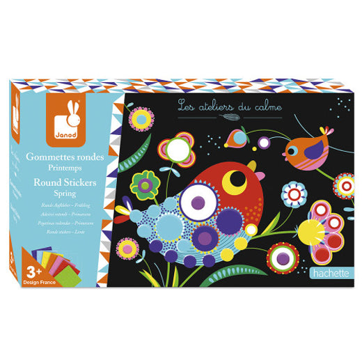 Janod Spring Stickers Craft Kit