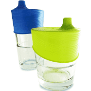 Siliskin  Universal Sippy Top 2pk Blue/ Lime