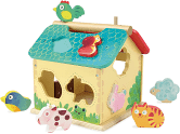 Vilac Farm with Animal Shapes