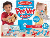Melissa and Doug Pet Vet Set