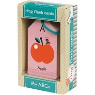 Mudpuppy Ring Flash Cards My Abcs