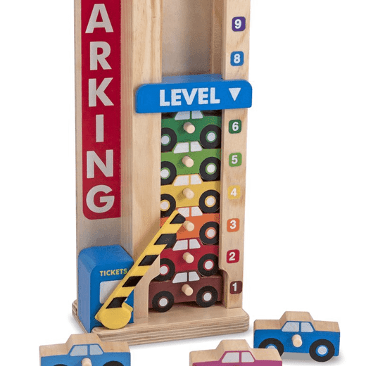 Melissa and Doug Stack & Count Garage