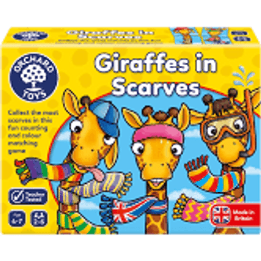 Old Orchard Giraffes in Scarves 4+