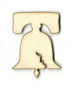 Liberty Bell - Laser Cut Wood Shape 4Th14 Craft Supply