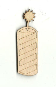 Firework - Laser Cut Wood Shape 4TH5