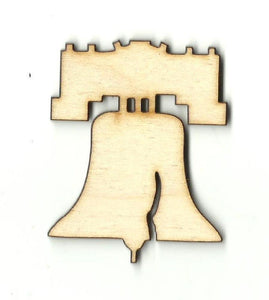 Liberty Bell - Laser Cut Wood Shape 4Th12 Craft Supply