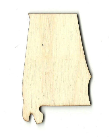 Alabama US State - Laser Cut Wood Shape