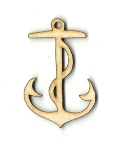 Anchor - Laser Cut Wood Shape Anc1 Craft Supply