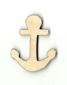 Anchor - Laser Cut Wood Shape Anc14 Craft Supply