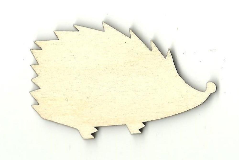 Hedgehog - Laser Cut Wood Shape Anml12 Craft Supply