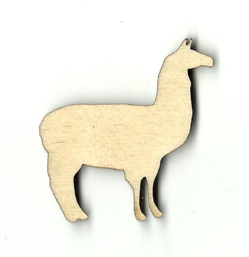 Llama - Laser Cut Wood Shape Anml14 Craft Supply