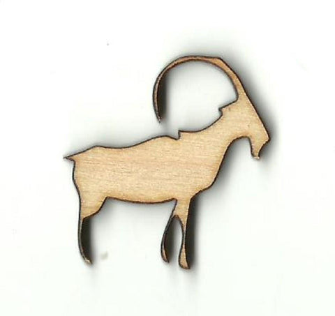 Mountain Goat - Laser Cut Wood Shape Anml57 Craft Supply