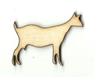 Goat - Laser Cut Wood Shape Anml55 Craft Supply