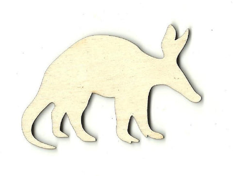 Anteater - Laser Cut Wood Shape ANML39