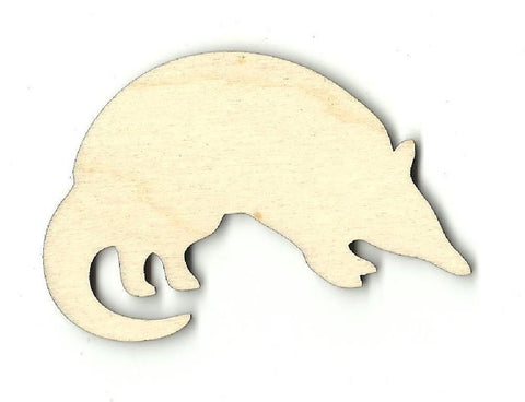 Armadillo - Laser Cut Wood Shape ANML3
