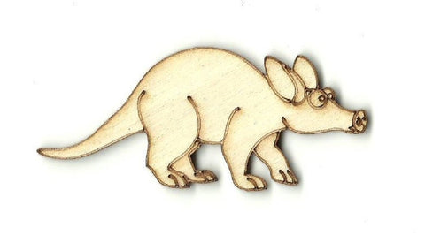 Aardvark - Laser Cut Wood Shape Anml40 Craft Supply