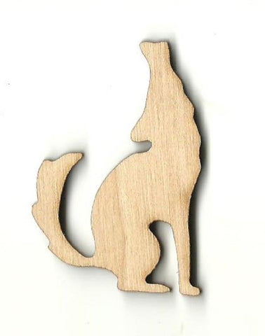 Coyote - Laser Cut Wood Shape Anml42 Craft Supply