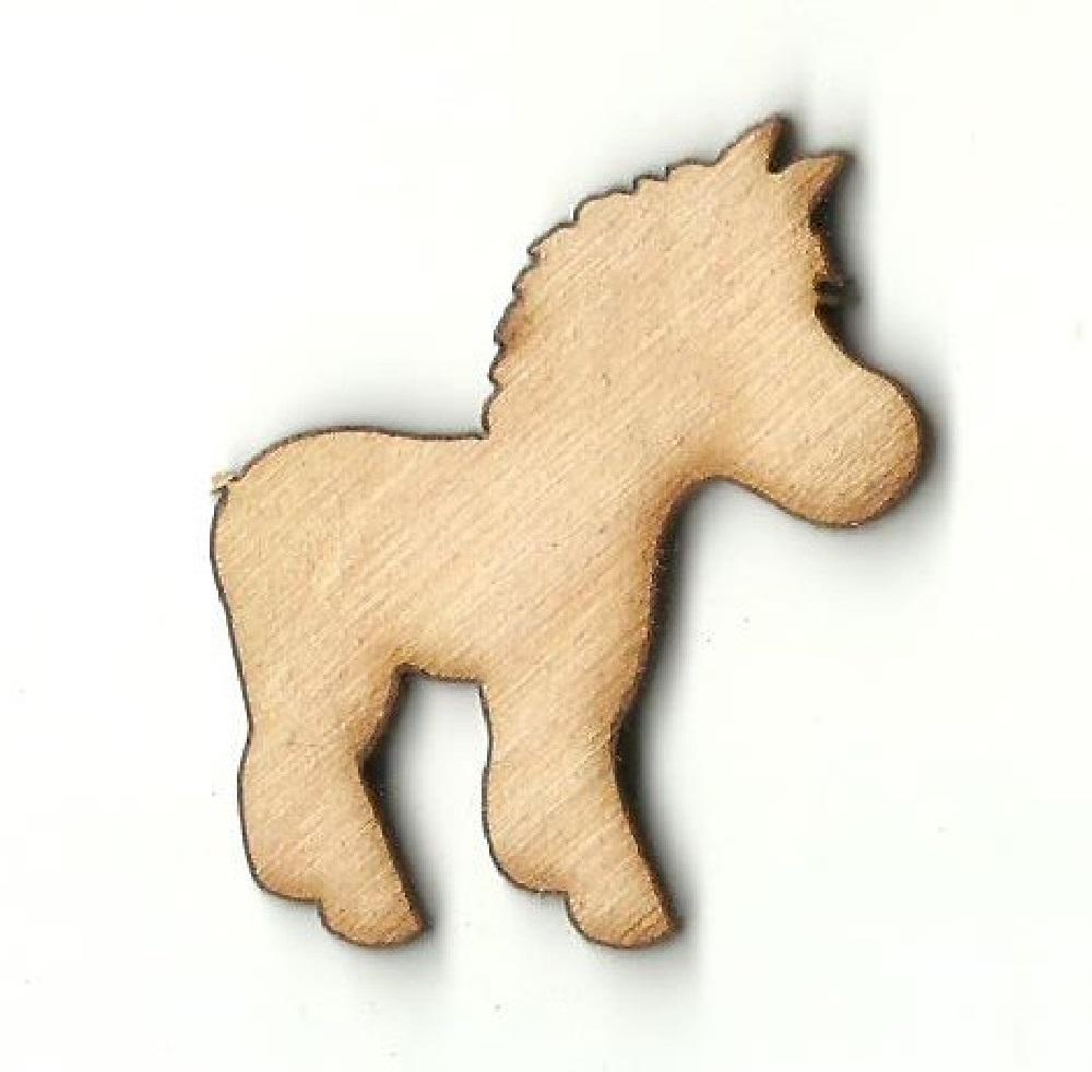 Zebra - Laser Cut Wood Shape Anml43 Craft Supply