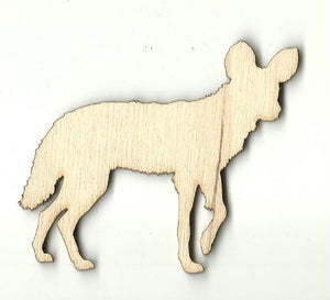 Coyote - Laser Cut Wood Shape Anml75 Craft Supply