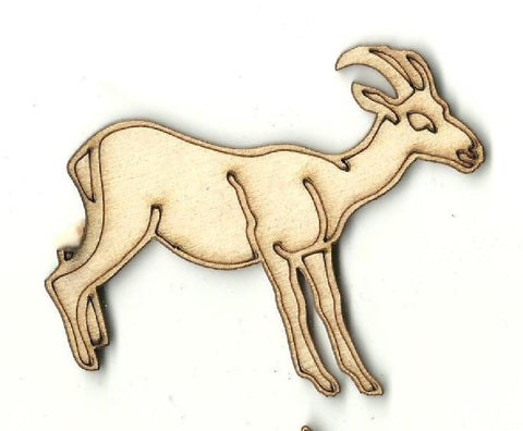 Antelope - Laser Cut Wood Shape ANML79
