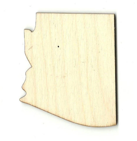 Arizona Us State - Laser Cut Wood Shape Craft Supply
