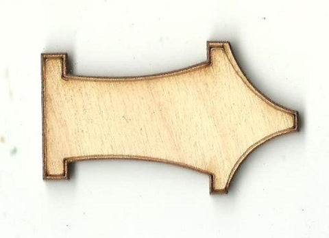 Arrow - Laser Cut Wood Shape Arw16 Craft Supply
