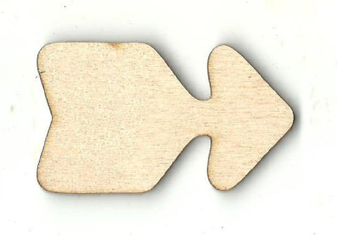 Arrow - Laser Cut Wood Shape Arw19 Craft Supply