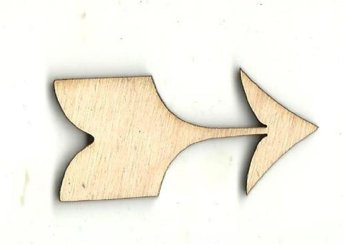Arrow - Laser Cut Wood Shape Arw20 Craft Supply