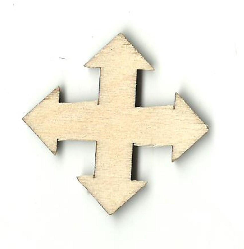 Arrow - Laser Cut Wood Shape Arw7 Craft Supply