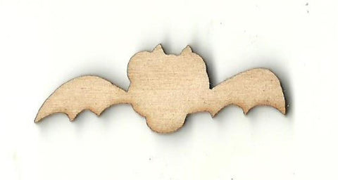 Bat - Laser Cut Wood Shape Bat10 Craft Supply