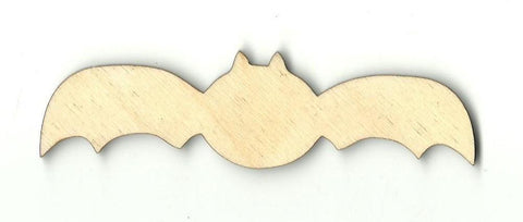 Bat - Laser Cut Wood Shape Bat11 Craft Supply