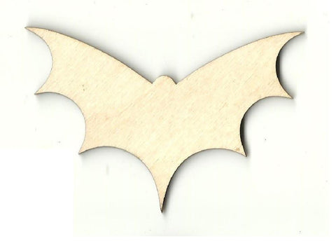 Bat - Laser Cut Wood Shape Bat15 Craft Supply