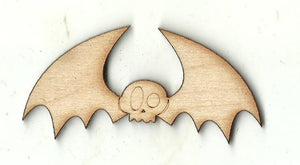 Bat - Laser Cut Wood Shape BAT16