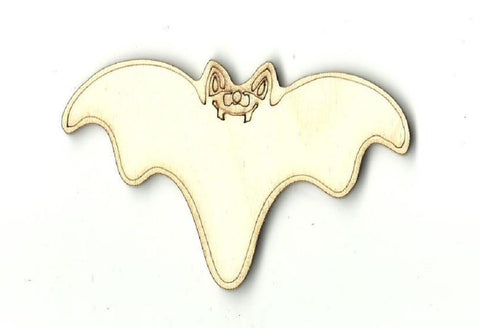 Bat - Laser Cut Wood Shape Bat1 Craft Supply