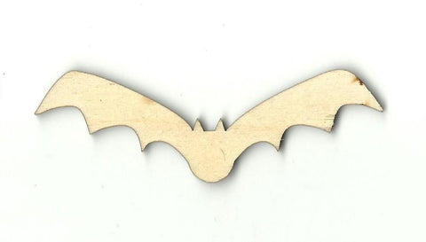 Bat - Laser Cut Wood Shape Bat14 Craft Supply
