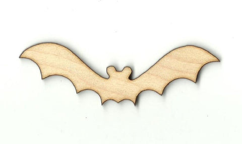 Bat - Laser Cut Wood Shape Bat12 Craft Supply