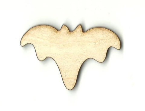 Bat - Laser Cut Wood Shape Bat7 Craft Supply