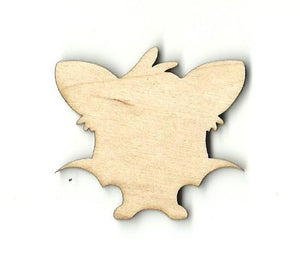 Bat - Laser Cut Wood Shape Bat8 Craft Supply