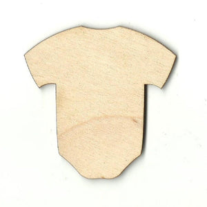 Baby Onesie - Laser Cut Wood Shape Bby13 Craft Supply