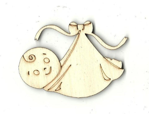 Baby - Laser Cut Wood Shape Bby14 Craft Supply