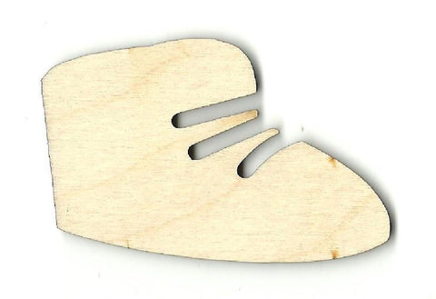 Baby Bootie - Laser Cut Wood Shape Bby4 Craft Supply