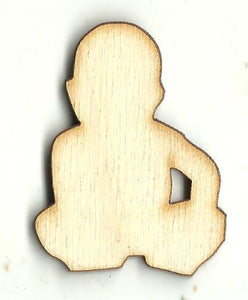 Baby - Laser Cut Wood Shape BBY55